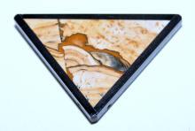 Lot 125: Picture jasper framed specimen