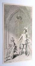 Lot 126: Chodowiecki etching signed 1795