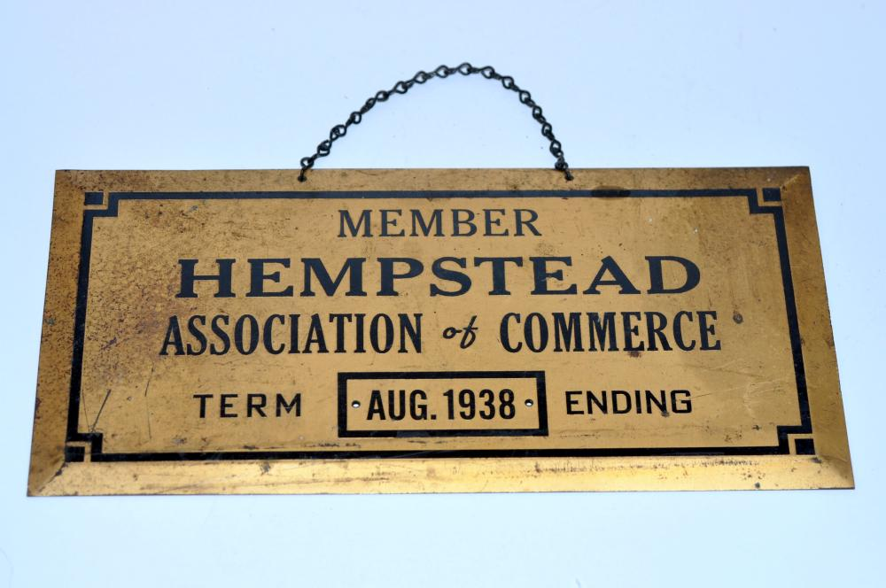 Hempstead Chamber of Commerce 1938