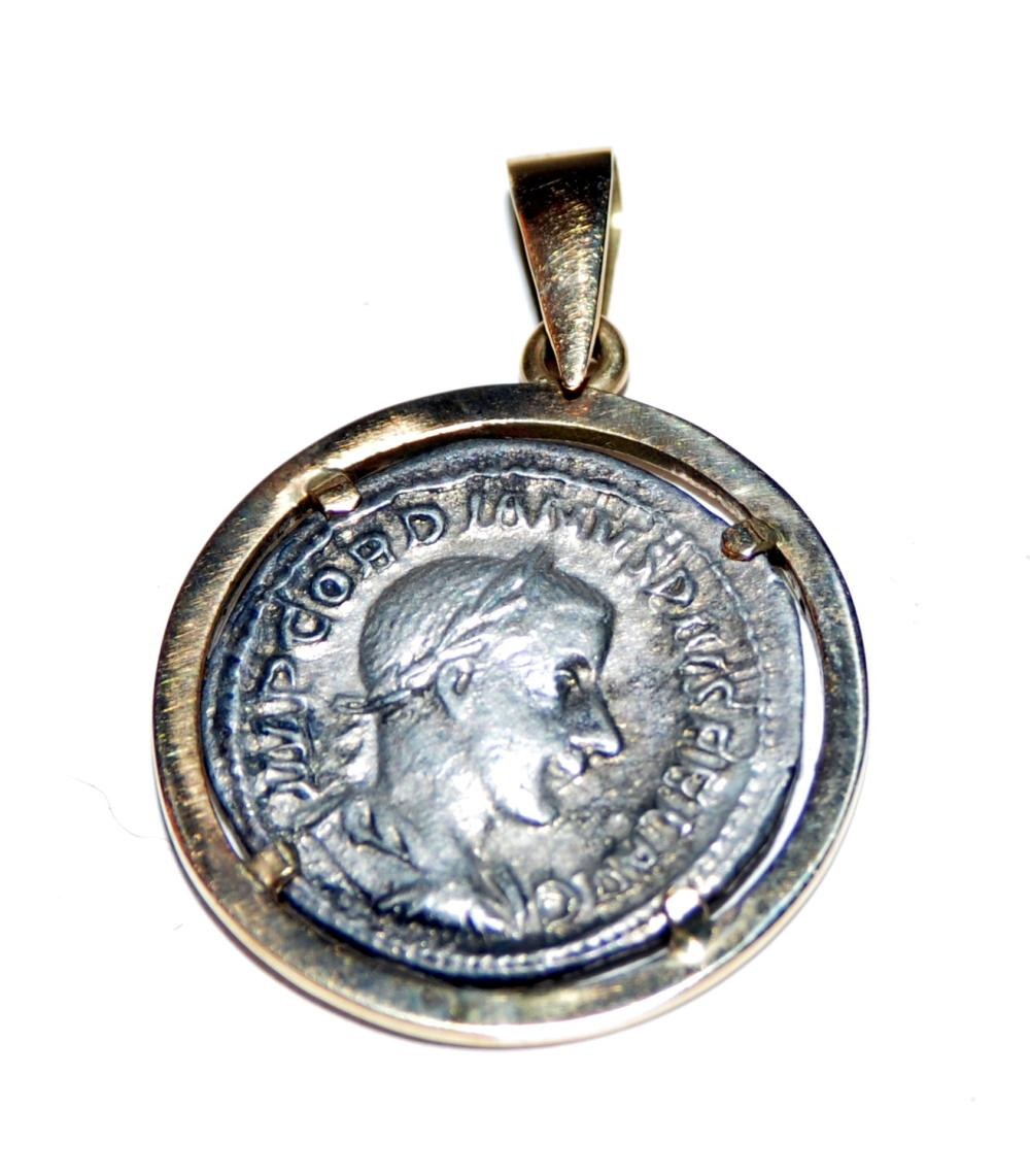 Lot 184: Ancient Roman silver coin