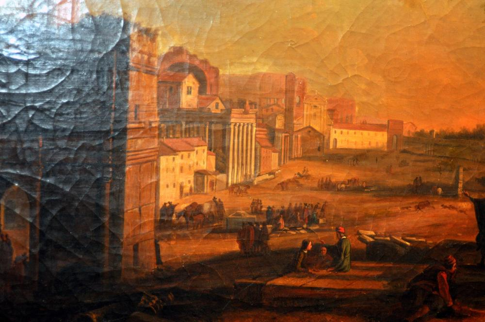 Lot 188: Dutch 17th c oil on canvas