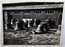 Lot 216: Vintage giant bell photograph