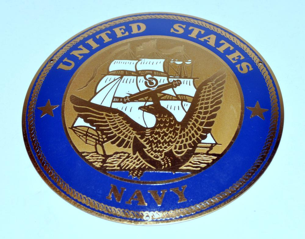 United States Navy plaque WWII