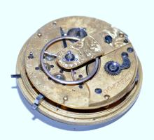 Lot 268: Watch movement fusee vintage