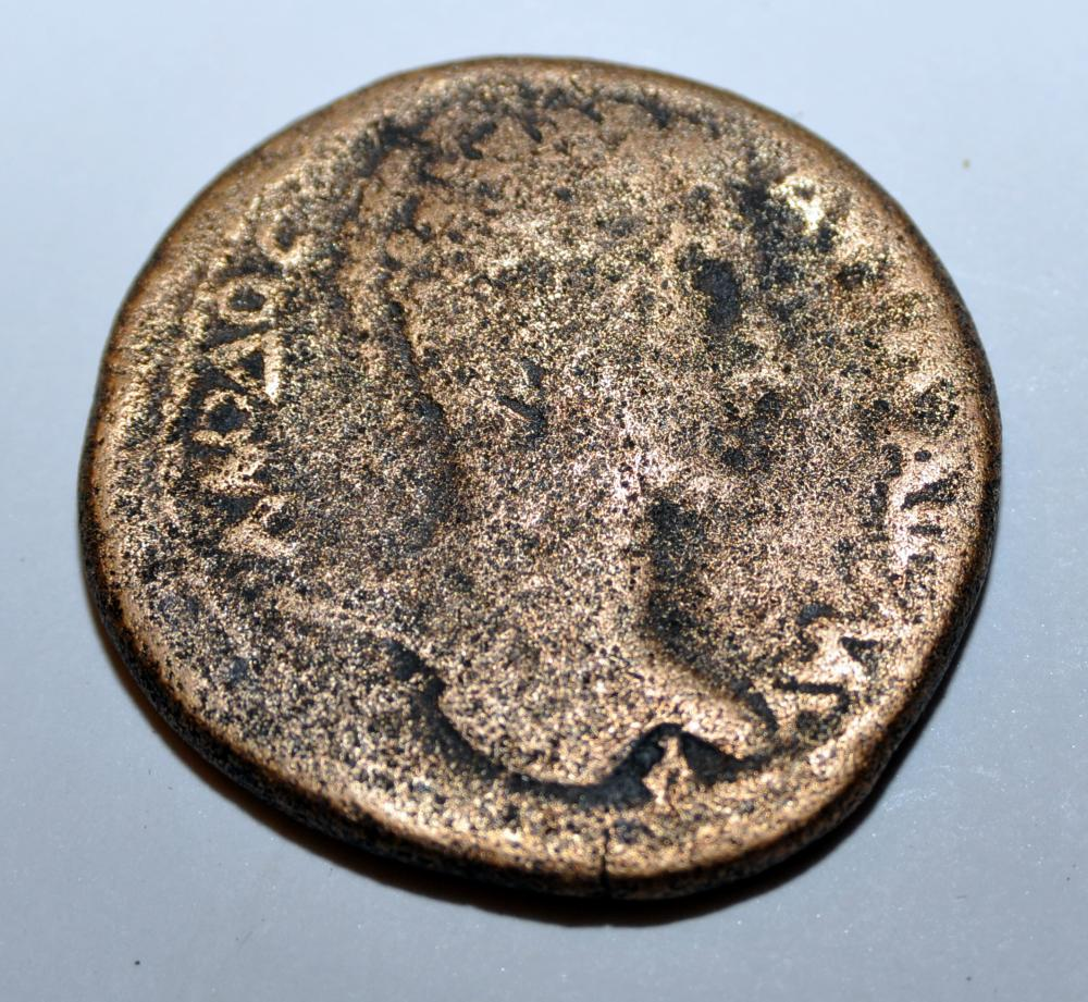 Ancient Roman coin Antioch