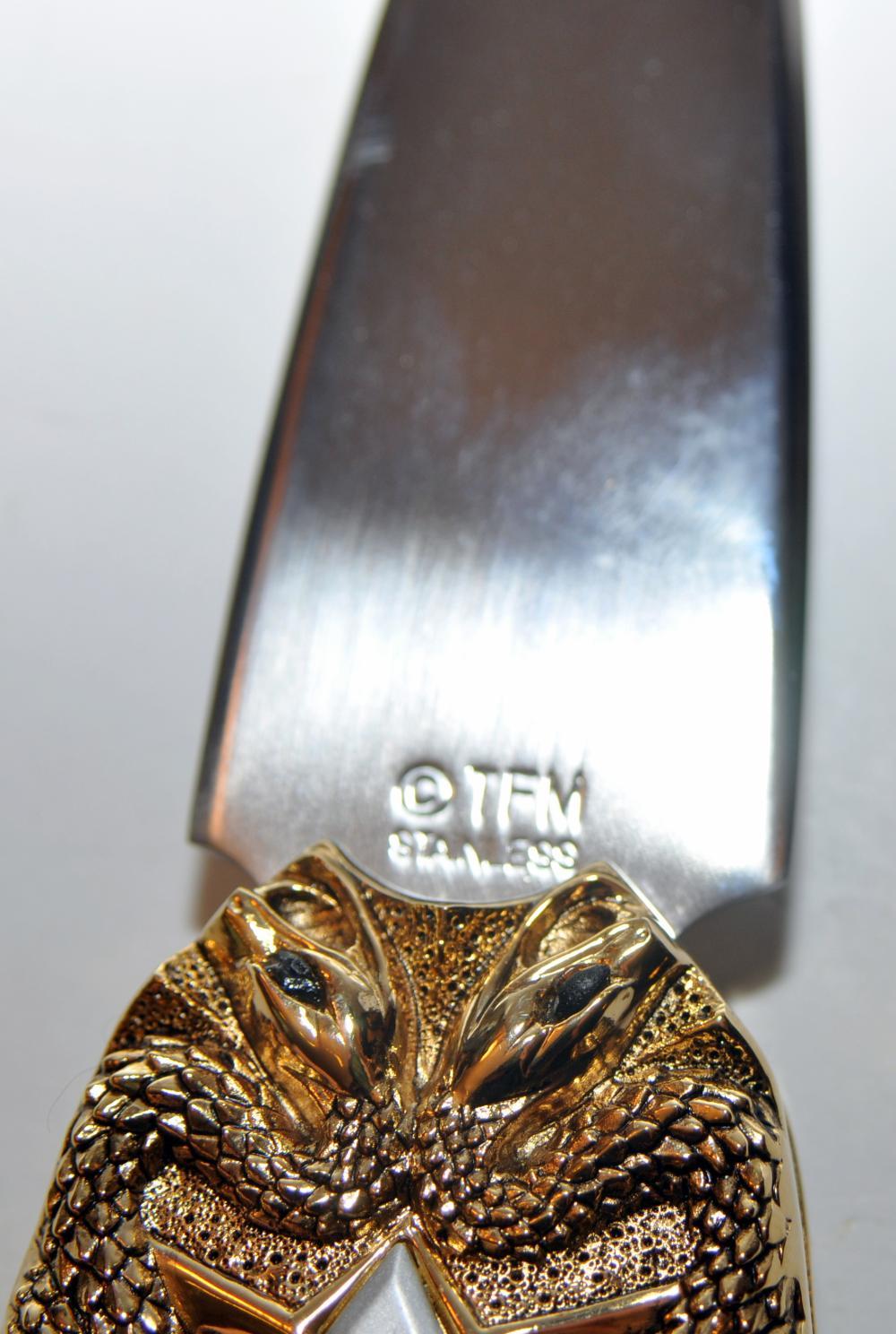 Lot 350: Knife /Fork folder + knife/Greed