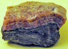 Cobalt calcite specimen pink