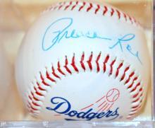 Preacher Roe baseball signed 1988