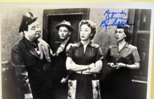Vintage Honeymooners photo signed