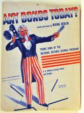 Vintage music patriotic Irving Berlin