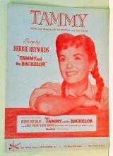 Vintage Tammy Debbie Reynolds sheet Music