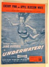 Vintage Jane Russell music sheet