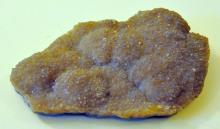 Crystal Arkansas agate specimen