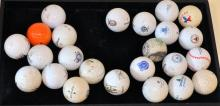 Vintage golf ball collection specialty balls