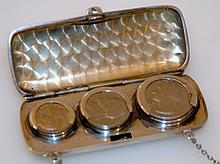 Vintage Sterling change purse