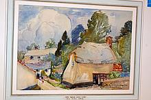 Watercolor signed Hayley Lever- Littleham near Devon