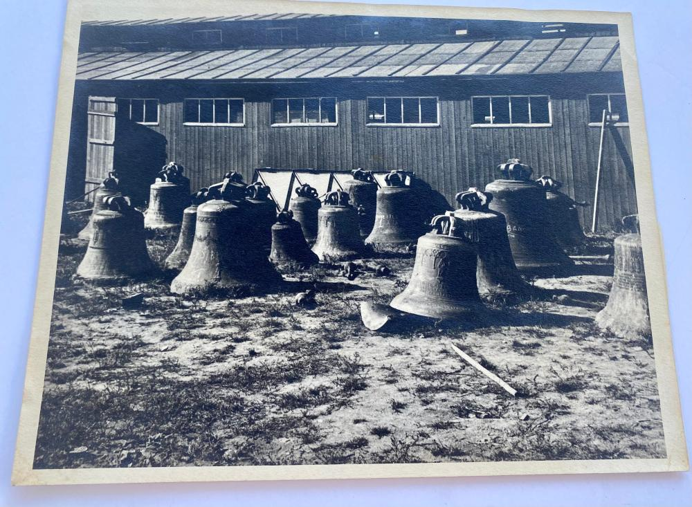Photograph of bell foundry