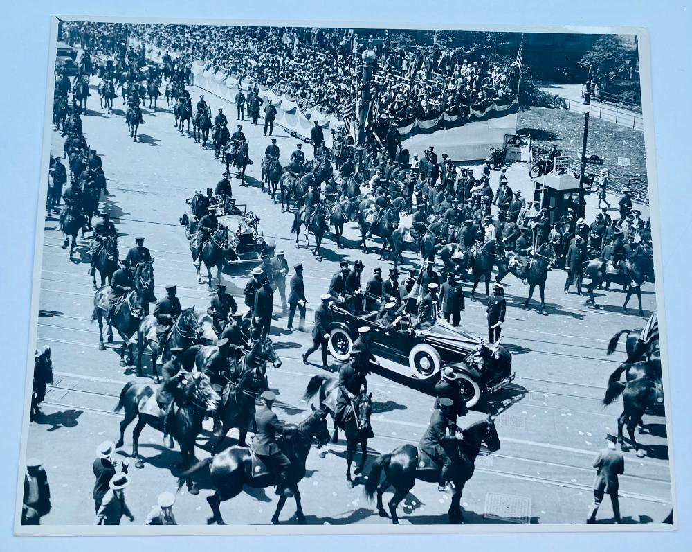 Photograph military/police parade