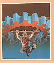 Richard Wehrman 1980's illustration art