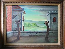 George W. Staempfli Surrealist painting