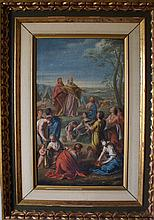 French Old Master Circle of Charles LeBrun biblical scene