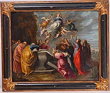 Flemish Old Master Painting Style of Rubens