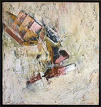 John Saccaro 1959 Abstract painting