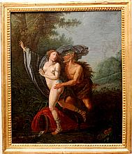 Leon Louis Vincent Palliere (attributed to)( French 1787-1820) Old Master mythological painting 18th century