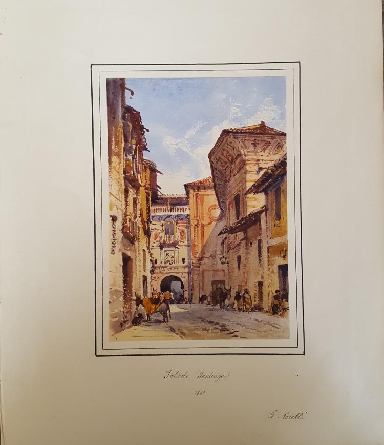 Gabriel Carelli British Italian Orientalist Toledo Spain