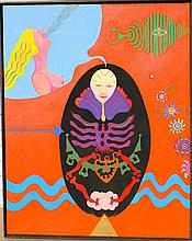 Norman Stiegelmeyer Surrealist California painting
