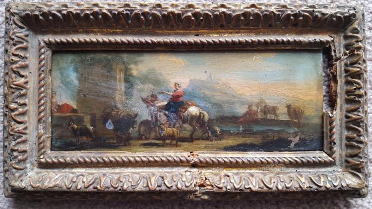 Old master tiepolo 1696 1770 manner of for Classic house genre