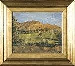 Marco Calderini Torino 1850 - 1941 Paesaggio Olio