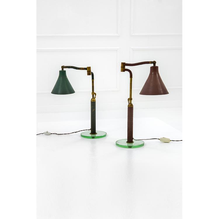 Due lampade da scrivania