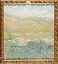 Nicola Fabricatore Paesaggio Pastello su cartone,