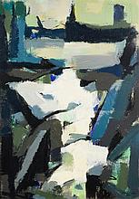 George Cress TN Cubist Oil