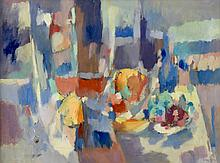 George Cress, AL/TN,  O/C Abstract Still Life