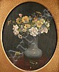 Cornelius Hankins still life, oil painting, Cornelius Haly Hankins, Click for value