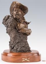 Ralph Crawford Bronze of General Custer
