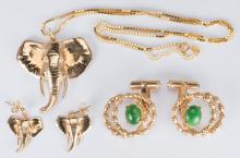 Gold Asian Style Jewelry