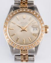 Ladies Rolex w/ Diamond Bezel