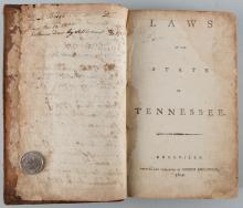 Laws of Tennessee: Knoxville, Roulstone 1803