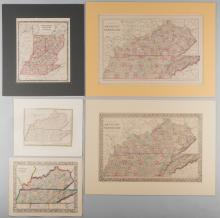 5 Kentucky and Tennessee Maps