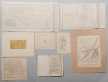 8 Tennessee Military & Survey Maps
