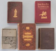 5 Civil War Related Books