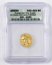 Alexander the Great AV Stater Coin, Memphis Mint