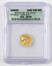 Alexander the Great AV Stater, Susa Mint