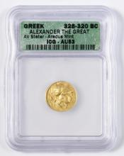 Alexander the Great AV Stater, Aradus Mint