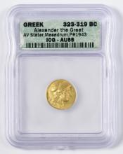 Alexander the Great AV Stater, Maeadrum Mint