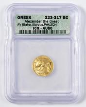 Alexander the Great AV Stater, Abydus Mint