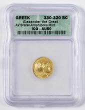 Alexander the Great AV Stater Coin, Amphlpolls Mint